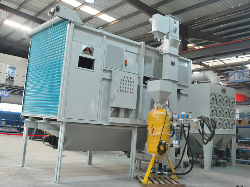 Automatic Abrasive Recycling Sand Blasting Room